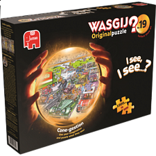 Wasgij Original #19: Cone-gestion - 1000 Pieces