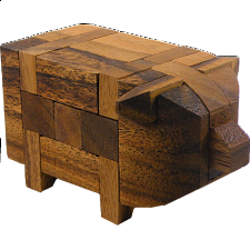 Pig Kumiki - Other Wood Puzzles