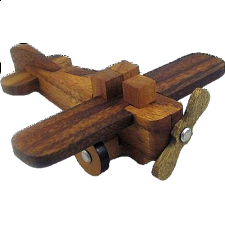 Airplane Kumiki - Other Wood Puzzles