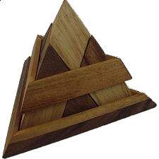 Luxor Egyptian Pyramid - Wood Puzzles