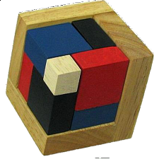4D Wooden Puzzle - Other Wood Puzzles