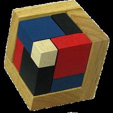 4D Wooden Puzzle