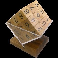 3D Wooden Sudoku Cube -