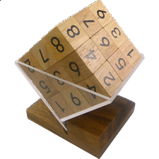 3D Wooden Sudoku Cube - Search Results