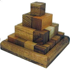 Pagoda Pyramid - Other Wood Puzzles