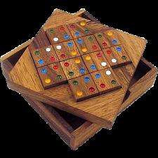 Color Match 12 Pieces Brain Teaser Puzzle -