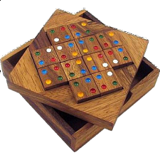 Color Match 12 Pieces Brain Teaser Puzzle - Other Wood Puzzles