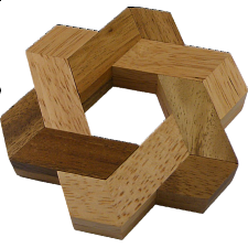 Star of David - Winshare Puzzles & Games - Other Wood Puzzles