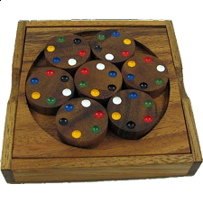Color Match Circles - Other Wood Puzzles