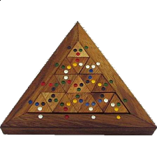 Color Match Triangle - Other Wood Puzzles