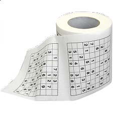 Sudoku Toilet Roll - Search Results