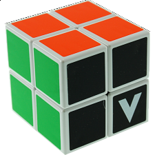 V-CUBE 2 Flat (2x2x2): White - Rubik's Cube & Others