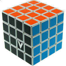 V-CUBE 4 Flat (4x4x4): White - Rubik's Cube & Others