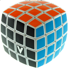 V-CUBE 4 Pillow (4x4x4): White - V-Cube
