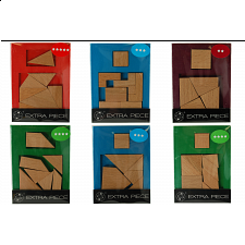 Extra Piece - Set of 6 puzzles - Other Wood Puzzles