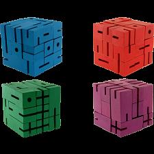 Flexi Cube - Set of 4 Puzzles -