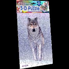 3D Snow Wolf -
