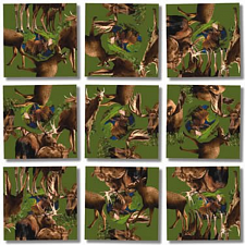Scramble Squares - Moose! -