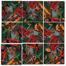 Scramble Squares - Vintage Tractors -