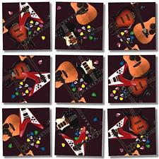 Scramble Squares - Guitars -