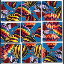 Scramble Squares - Hot Air Balloons -