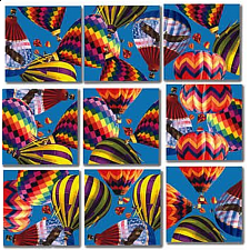 Scramble Squares - Hot Air Balloons - Tile Puzzles