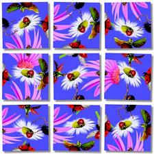 Scramble Squares - Ladybugs -