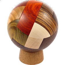 Convolution Ball - Wood Puzzles