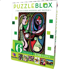Puzzle Blox - 6 Sided Modern Art -
