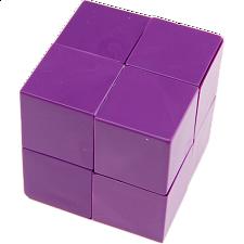 Randy's Cube - Purple - Cube Puzzle