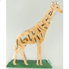 Giraffe - Wooden Jigsaw - Wooden Jigsaws