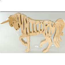 Unicorn - Wooden Jigsaw