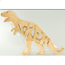 T-Rex - Wooden Jigsaw - 1-100 Pieces
