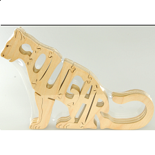 Cougar - Wooden Jigsaw - Wooden Jigsaws