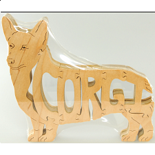 Welsh Corgi Dog - Wooden Jigsaw - Wooden Jigsaws