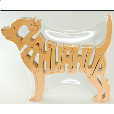 Chihuahua Dog - Wooden Jigsaw - Wooden Jigsaws