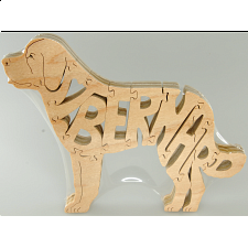 St. Bernard Dog - Wooden Jigsaw - Search Results