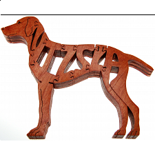 Vizsla Dog - Wooden Jigsaw - Wooden Jigsaws
