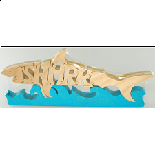 Shark - Wooden Jigsaw - Wooden Jigsaws