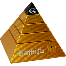 The Isis II - Ramisis - GII - Gold with Black Capstone