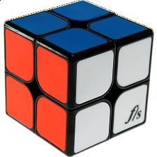 ShiShuang 2x2x2 with tiles - Black Body (50x50mm) - Rubik's Cube & Others