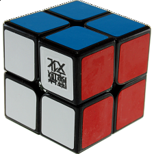 LingPo 2x2x2 - Black Body for Speed-cubing -