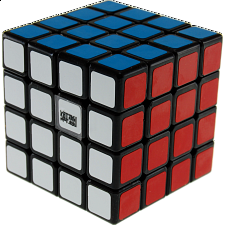 WeiSu 4x4x4 - Black Body for Speed-cubing