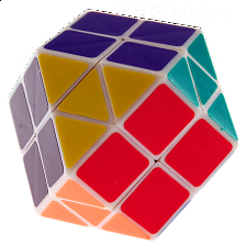 Rainbow Cube - 14 color White Body