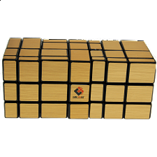 Siamese Mirror Cube - Large - Gold Labels -