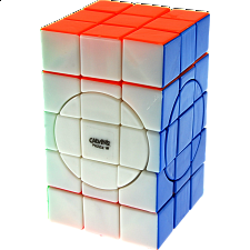 3x3x5 Super Cuboid with Evgeniy logo - Stickerless - Evgeniy Grigoriev