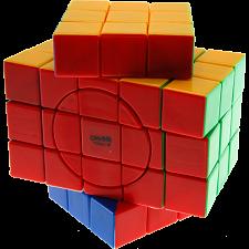 3x3x5 Super X-Shaped-Cube with Evgeniy logo - Stickerless -