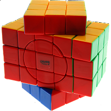 3x3x5 Super X-Cube with Evgeniy logo - Stickerless