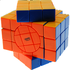 3x3x5 Super Temple-Cube with Evgeniy logo - Stickerless