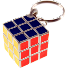 3x3x3 Super Mini Keychain Puzzle